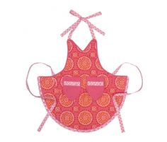 This is a great shape for a full apron.