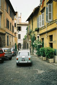 Trastevere, Italy (Rome) There is nothing like this little Roman artist town at night. Good food, music and ambiance...