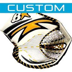 Brians G-NETiK CUSTOM Goalie Catch Glove [Senior] | Total Goalie $469.99 http://goalie.totalhockey.com/product/G-NETiK_CUSTOM_Goalie_Catch_Glove/itm/11270-41/?mtx_id=0#