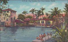 Florida Coral Gables The Venetian Pool