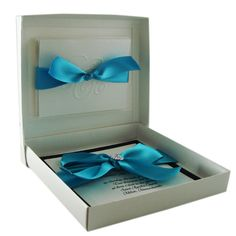 Boxed+Wedding+Invitation+++Couture+Invitation++by+JustEmbossed,+$960.00