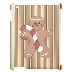 Christmas Gingerbread cookie iPad 2/3/4 Savvycase iPad Cases