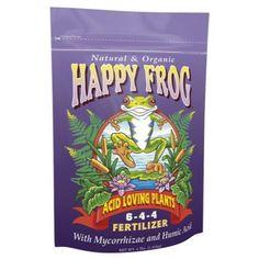 Happy Frog Acid Loving Fertilizer 4 lb (12/Cs)