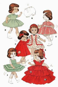 7971 Doll Clothes PATTERN for 11 inch Littlest by BlondiesSpot, $9.99