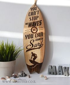 Hibiscus Surf Decorative Surfboard Wall Art by TikiSoulSurfboards ...