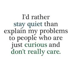 This is also one reason (among several) why I avoid gossipers like the plague.  #introvert  #myt