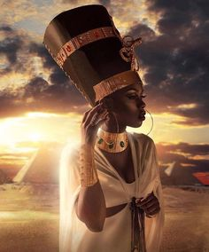 black art By purchasing posters from us, you - art Black Love Art, Black Girl Art, Black Is Beautiful, Black Girl Magic, Art Girl, Black Girls, Egyptian Women Beautiful, Beautiful Goddess, Beautiful Pictures