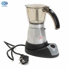 Cheap automatic coffee machine, Buy Quality coffee machine directly from China mini coffee maker Suppliers: Kitchen Mini Coffee Maker Electric Automatic Coffee Machine Cafetiere 6 Cups Espresso Percolator Mocha Tea Kettle Household Portable Coffee Maker, Best Coffee Maker, Drip Coffee Maker, Best Espresso Machine, Espresso Maker, Espresso Cups, Italian Espresso, Italian Coffee, Stainless Steel Coffee Maker