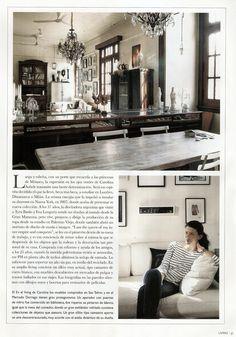 Revista Living Arg.- Hoja 2 de 5   Prensa Carolina Aubele www.carolinaaubele.com Para conocer las actividades de su centro de moda e imagen www.maisonaubele.com