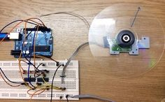 """In the last BLDC project """"Run-A-CDROM-Brushless-Motor-With-Arduino"""" I've used a to drive a brushless DC motor. There were two important problems in. Diy Electronics, Electronics Projects, Beaglebone Black, Diy Tech, 3d Printing Technology, Arduino Projects, Diy Projects, Stepper Motor, Coding"""