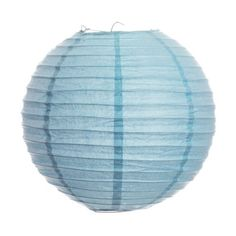 Koyal 8-Inch Paper Lantern, Baby Blue by Koyal. $9.86. Light Kit Sold Separately. Pair this with other Koyal Wholesale products, such as vases, event decorations, lighting, DIY craft supplies and dessert and candy buffet supplies. Traditional round paper lantern with easy assembly instructions. Perfect for catered presentations, weddings, bridal and baby showers, birthdays, classic candy buffets, dessert tables and more. Wire insert allows for easy hanging. Koyal Wholesale is t...