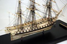 48-Gun heavy frigate 1/196 Scale Model