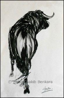 Warrior Study I Chakib Benkara Fine Art