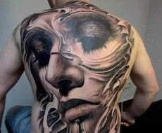 """""""Face it"""", this is the most amazing tattoo  by Victor Portugal."""