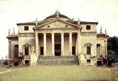 Palladio - Villa Rotonda, Vizenza 1550-82 centralny układ przestrzenny, symetryczne rozplanowanie