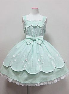 Going Out JSK (Angelic Pretty) casual sweet Lolita dress Source by out Dresses Harajuku Fashion, Kawaii Fashion, Lolita Fashion, Cute Fashion, Gothic Fashion, Fashion Outfits, Estilo Lolita, Pretty Dresses, Beautiful Dresses