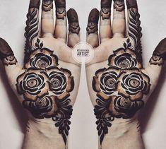 Henna Tattoo Designs Simple, Khafif Mehndi Design, Latest Henna Designs, Floral Henna Designs, Finger Henna Designs, Arabic Henna Designs, Mehndi Designs 2018, Mehndi Designs For Girls, Modern Mehndi Designs