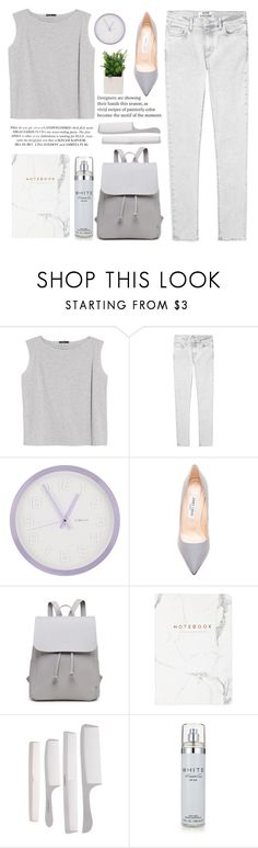 """Everythin' mean nothin'"" by itaylorswift13 ❤ liked on Polyvore featuring MANGO, Acne Studios, DecoMates, Jimmy Choo and Kenneth Cole"