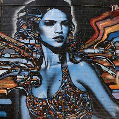 El Mac and Retna, Poinsettia & alley S of Melrose, Los Angeles   Flickr