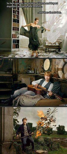 Emma, vs Rupert, vs Dan...