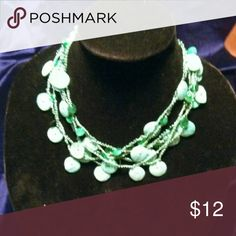 Elegant Seafoam-Green Necklace W/ Shell Pendants ~NWOT~ Elegant Sea Foam Green-Colored Strand Necklace With Faux Shell Pendants ~ Classy For Any Outfit~ Special Occasion ~ Medium Heavy??  Thanks For Stopping By ClosetCarousel~  Lets Make It A Fabulous Day~ Jewelry Necklaces