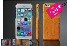 Luxury PU Leather Case For iPhone 6 4.7inch Back Cover With Card Slots.. Get this luxury case at a slash price today with free shipping across India