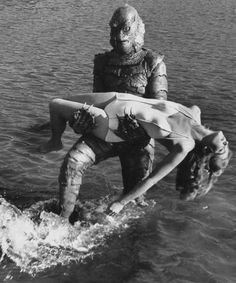 Creature from the Black Lagoon - Julie Adams - 1954. Julie was born in Waterloo, Iowa.
