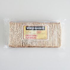One of my favorite discoveries at WorldMarket.com: World Market® Everything Flatbread