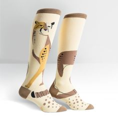Cheetah Pet Women's Knee High Sock
