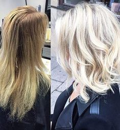 """Latest Balayage Colored Short Hair You Will Love, Balayage Hair Color Ideas for 2019 What do you want to tell? With its French definition meaning """"to sweep or paint,"""" just so when it comes to hair! Hair Color Balayage, Hair Highlights, Blonde Lob Balayage, Medium Hair Styles, Short Hair Styles, Long Face Hairstyles, Corte Y Color, Hair Color And Cut, My Hairstyle"""