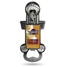 Cleveland Cavaliers Party Starter Bottle Opener Magnet, Multicolor