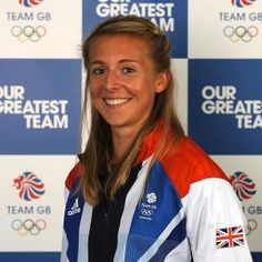 Katherine Copeland: Kat's light blonde hues show us that blondes really do have more fun (and win more medals).