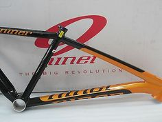 Niner ONE 9 Frame, Size Medium, Black / Tang, 29er 2013 brand new