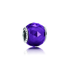 Geometric Facets Royal-Purple