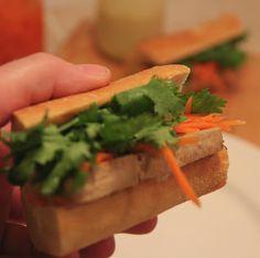 Tofu Banh Mi Hoagie, Vegan American Vegetarian: June 2013 #vegan #vegetarian #americanvegetarian
