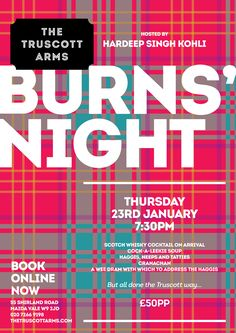 Bespoke burns night party invitations from http://knotsandkisses ...