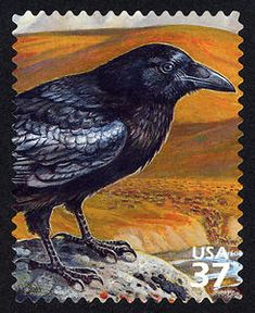 2003 37c Artic Tundra - Common Raven Scott # 3802 c.