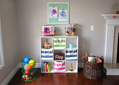 Toy Storage Ideas DIY Plans In A Small Space That Your Kids Will Love | Toy storage Storage ideas living room and Toy storage furniture & Toy Storage Ideas DIY Plans In A Small Space That Your Kids Will ...