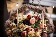 Romantic flower arrangement at Hotel Mazarin www.hotelmazarin.com