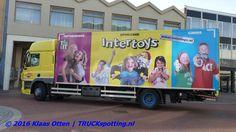 DAF bakwagen van #JandeRijkLogistics uit #Roosendaal  bevoorraad de lokale #Intertoys in #Den Helder! | www.facebook.com/TruckspottingNL/posts/1177025222343310