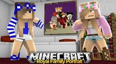 Minecraft Royal Family : RAMONA LEAVES US OUT OF THE FAMILY PORTRAIT! w/ Little Kelly & Little Carly