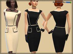 Dress Fringing at Bukovka • Sims 4 Updates