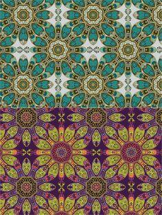 2 Seamless Patterns. Patterns