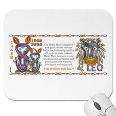 ValxArt Zodiac metal rat Leo born 1960 2020 Mouse Pads $11.45  What astrology sign+year are you? Your chinese zodiac year + astrology month molds your character. To learn more  see http://pinterest.com/pin/190347521720759035/  Valxart has Zodiac designs with & without horoscope forecast  include cusp, chinese zodiac years and years + sign. Check pinterest.com/valxart and if you do not see product, year or sign desired, contact Valxart  info@valx.us for links.