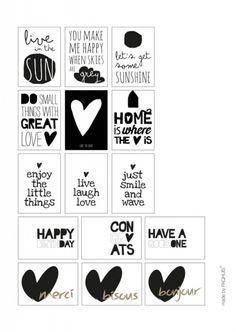 Mooie teksten om uit te printen #printable