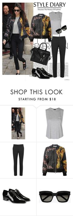 """""""Untitled #56"""" by cicimimi-525 ❤ liked on Polyvore featuring Givenchy, Topshop, RED Valentino, STELLA McCARTNEY, Yves Saint Laurent and Alexander McQueen"""