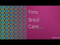 FIMO Cane Farbspirale: Polymer color spiral - Tutorial [HD/deutsch] (EN-Sub) - YouTube