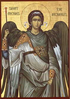 30 Day Orthodox Challenge Day 18 – Your favorite Archangel For many personal reasons, I have to say Holy Archangel Michael. However, the other Archangels -especially St. Selaphiel- are also very close to my heart. Byzantine Art, Byzantine Icons, Religious Icons, Religious Art, St. Michael, I Believe In Angels, Saint Michel, Catholic Art, Art Icon