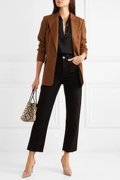Business Casual Outfits, Business Attire, Office Outfits, Casual Office, Office Attire, Office Chic, Business Fashion, Jimmy Choo, Moda Casual