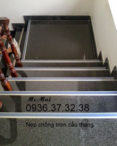 nẹp chống trơn cầu thang, nẹp chống trơn, nẹp cầu thang, nẹp nhôm, nẹp đồng
